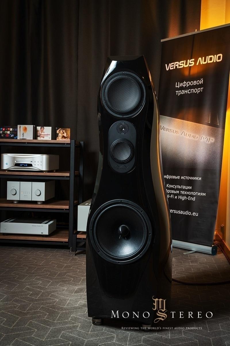 Versus Audio trình làng hệ thống loa ultra hi-end mang tên Versus