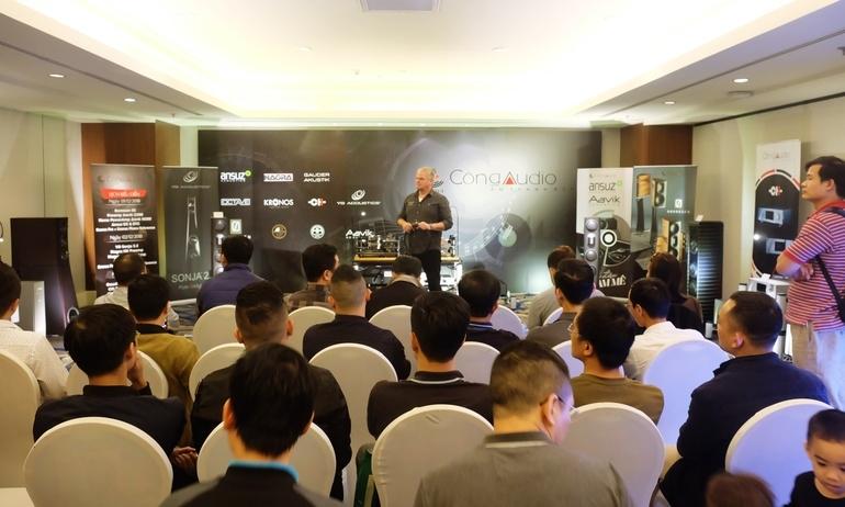 Khai mạc Vietnam Hi-end Show 2018 – Hà Nội: Ngày hội của những dàn hi-end hàng đầu thế giới