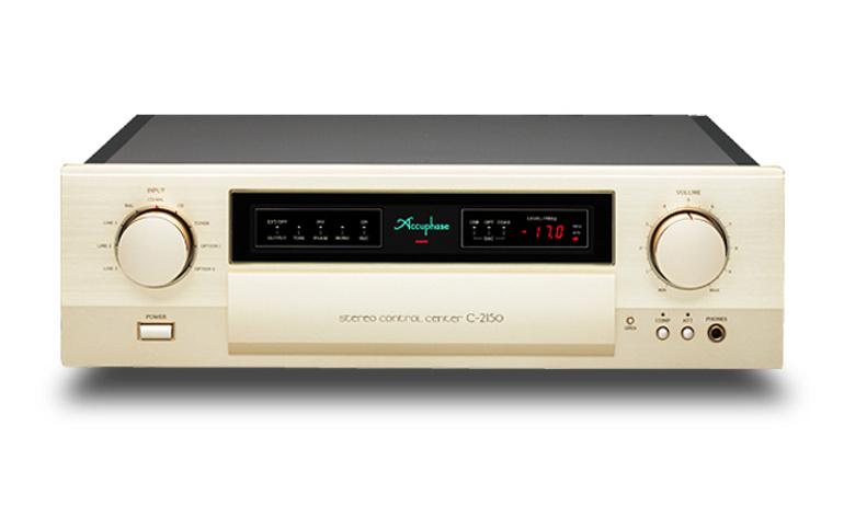 Preamp Accuphase C-2150: Triệt nhiễu tối đa cho âm thanh trung thực