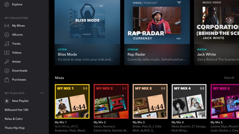 Tidal ra mắt My Mix: Playlist nhạc thông minh, tự trộn nhạc theo sở thích của người nghe