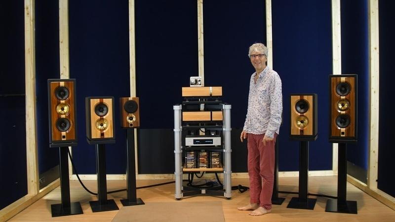 Klinger Favre Audio ra mắtloa bookshelf cao cấp D66