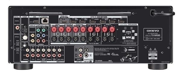Onkyo tung ra bộ ba AV Receiver giá rẻ TX-SR393, TX-SR494 và TX-NR595