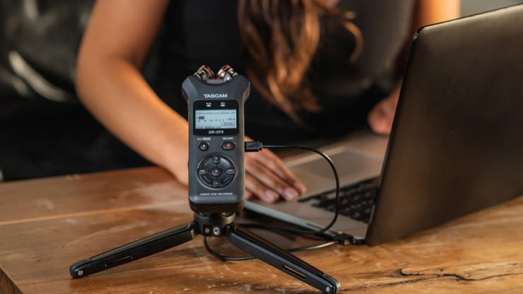 Tascam giới thiệu bộ ba máy thu âm di động mới