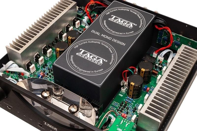 TAGA Harmony công bố ampli hybrid đầu bảng HTA-2500B
