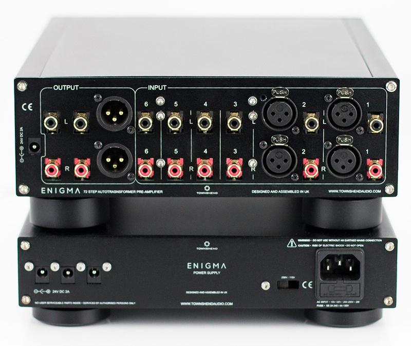 Townshend Audio Enigma: Bộ ampli tiền khuếch đại cao cấp cho hệ thống hi-end