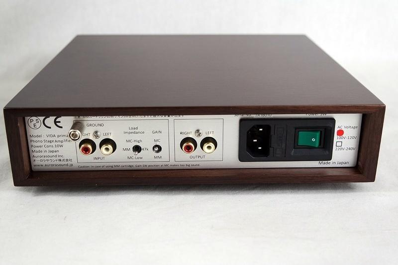 Aurorasound giới thiệu phono stage MM/MC VIDA Prima
