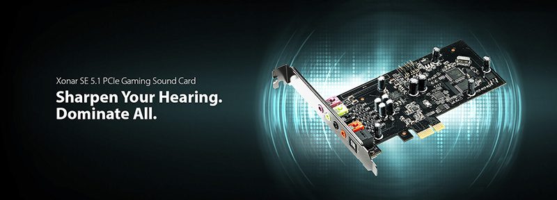 Asus giới thiệu card âm thanh rời Xonar SE: Nâng cấp chất lượng âm thanh trên máy tính