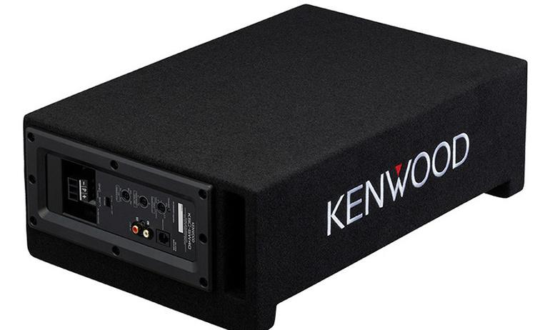 Kenwood giới thiệu loa siêu trầm công suất 400 W dành cho xe hơi