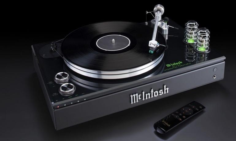 McIntosh ra mắt mâm đĩa than tích hợp MTI100