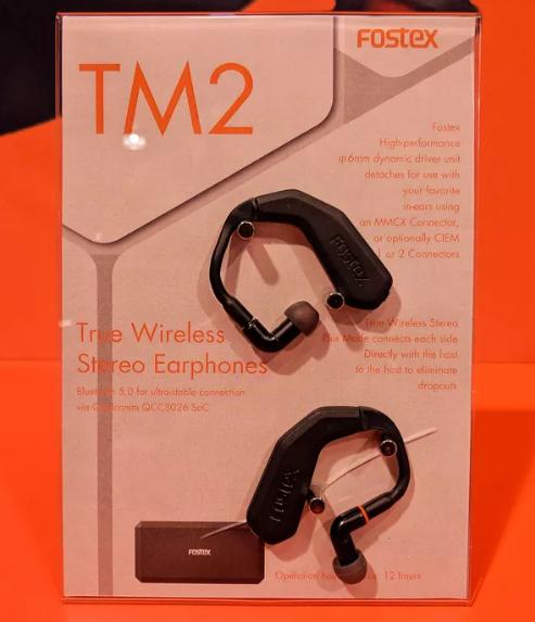 Fostex ra mắt tai nghe true wireless TM2, pin 12 tiếng