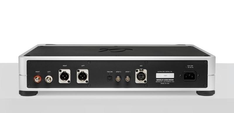 Berkeley Audio Design trình làng bộ giải mã Alpha DAC Reference Series 3