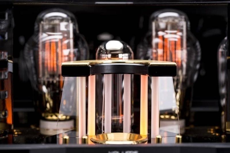 Cayin kỷ niệm 25 năm của hãng bằng ampli đèn tích hợp A-845 Pro 25th Anniversary