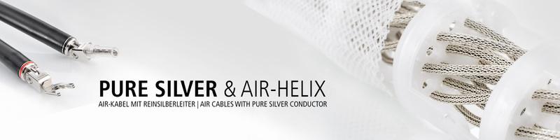 In-Akustik giới thiệu 2 dây loa đầu bảng Reference LS-4004 AIR Silver và Reference LS-2404 AIR Silver
