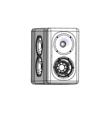 Redefy Audio công bố mẫu loa bookshelf 3 đường tiếng Active Stand Mount