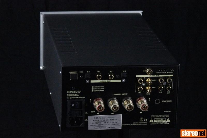 [Bristol Hi-Fi Show 2019] Norma Audio ra mắt amplifier tích hợp HS-IPA1