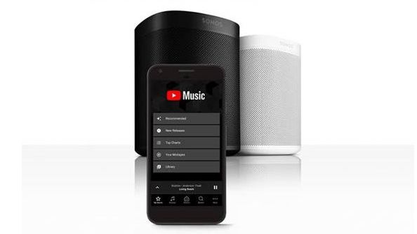 Dịch vụ streaming Youtube Music đã có mặt trên toàn bộ loa Sonos