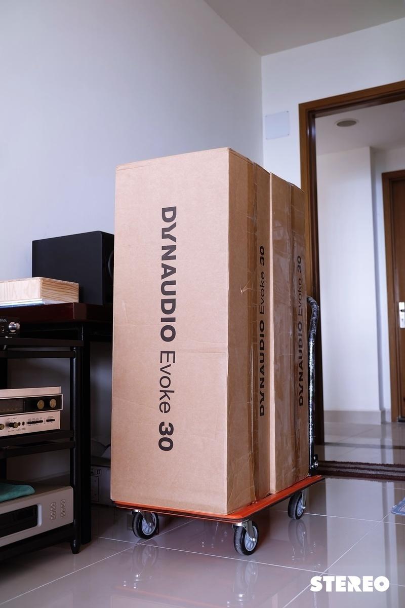 Khui thùng mẫu loa cột tầm trung Dynaudio Evoke 30