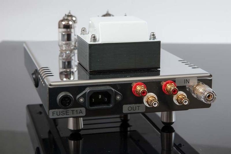 EGG-SHELL phát hành ampli đèn tích hợp TanQ và phono đèn Classic PS5.1