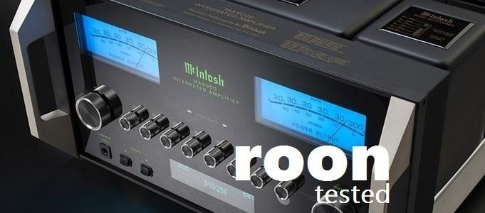 Roon nay đã có mặt trên các ampli kỹ thuật số của McIntosh