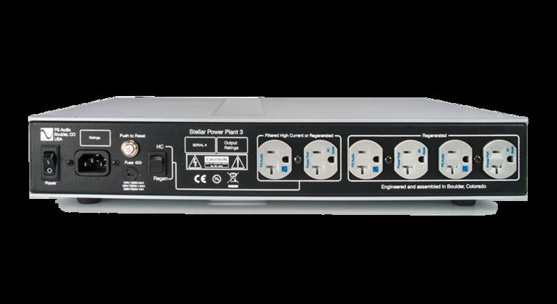 PS Audio giới thiệu bộ cấp nguồn Stellar P3 Power Plant