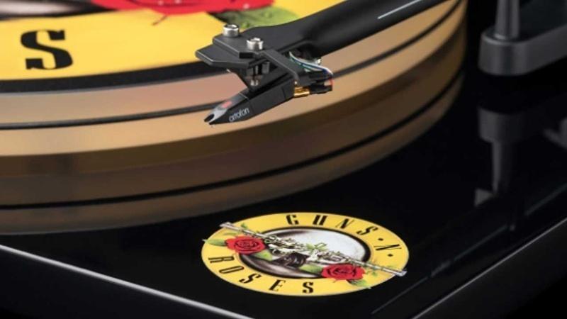 Pro-Ject giới thiệu mâm đĩa than Guns N' Roses