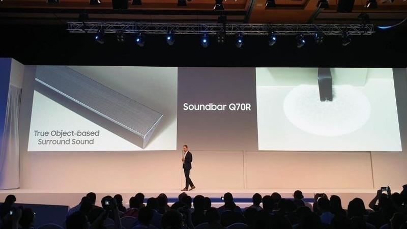Samsung ra mắt loa soundbar Atmos có khả năng thay đổi âm thanh linh hoạt