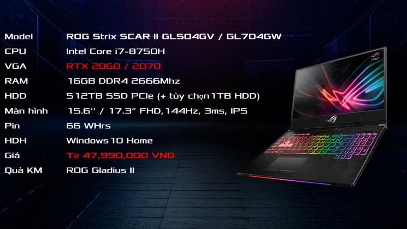 ASUS ROG ra mắt loạt laptop gaming dùng GeForce RTX tại sự kiện Unleashed the Beasts