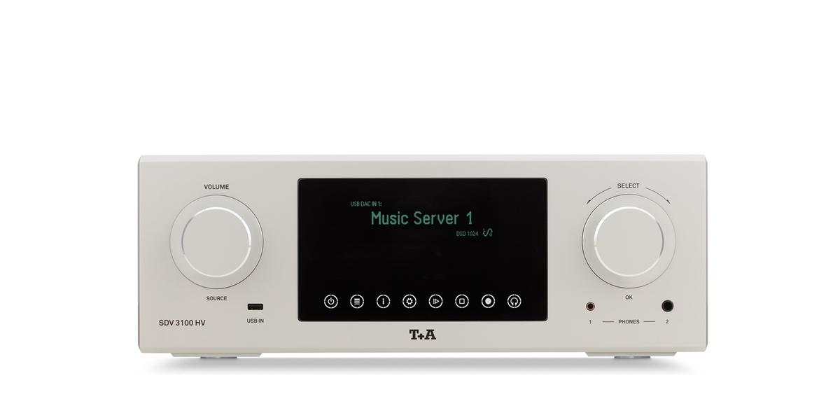 T+A giới thiệu các bộ nguồn phát đầu bảng SD 3100 HV, SDV 3100 HV, PDT 3100 HV