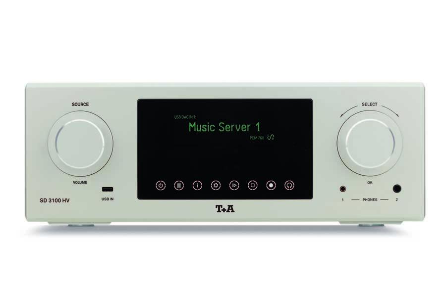T+A mở rộng dòng sản phẩm đầu bảng HV Series