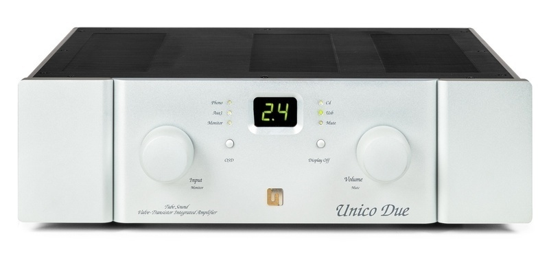 Ampli hybrid Unison Research Unico Due: Sự kết hợp khéo léo giữa đèn và bán dẫn