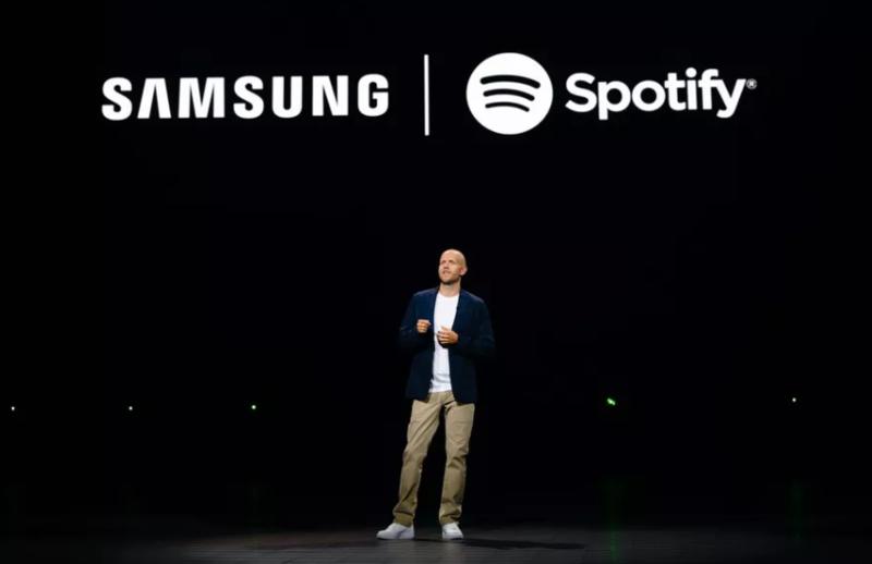 Spotify được đưa vào danh sách ứng dụng có sẵn trên smartphone Samsung