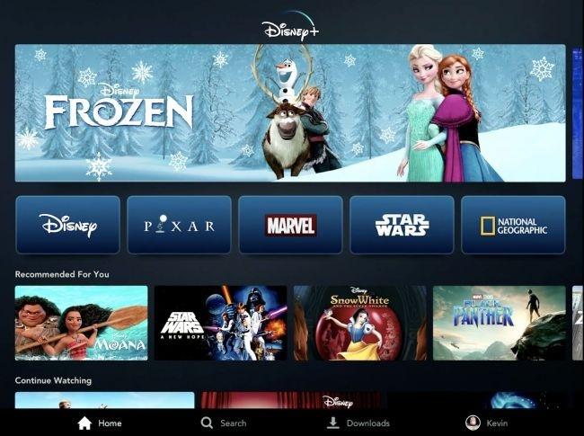 Disney chuẩn bị tung dịch vụ phim trực tuyến vào cuối năm 2019