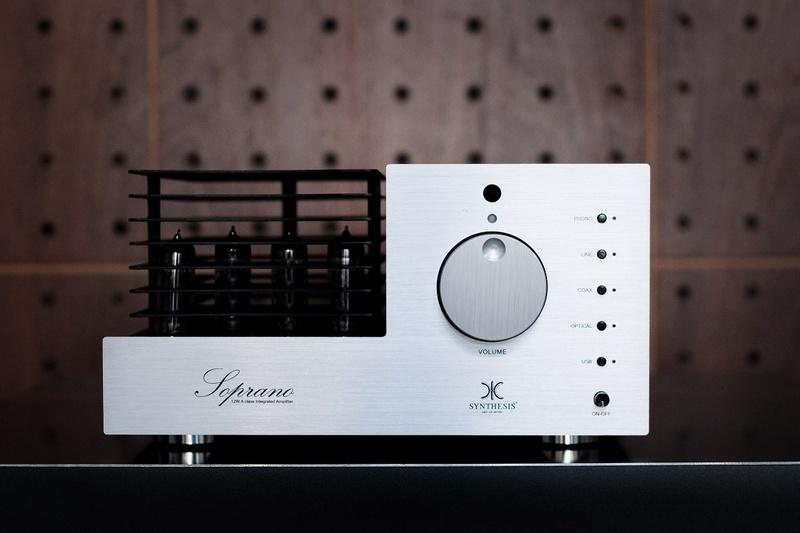 Ampli đèn Synthesis Soprano: Kim - cổ thăng hoa trên ampli đèn watt nhỏ