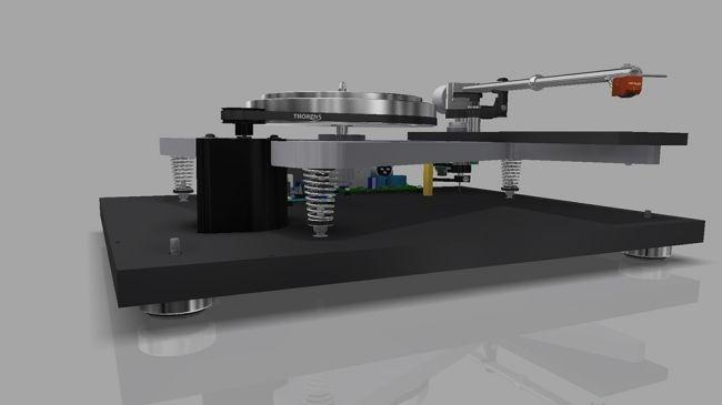 Thorens hồi sinh dòng mâm đĩa than nổi tiếng TD 160