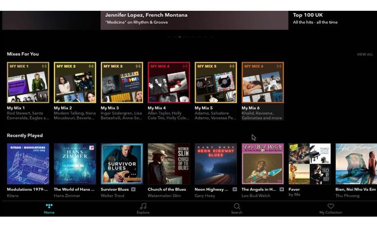 Hướng dẫn cài đặt ứng dụng nghe nhạc trực tuyến chất lượng cao trên Dune HD Ultra 4K