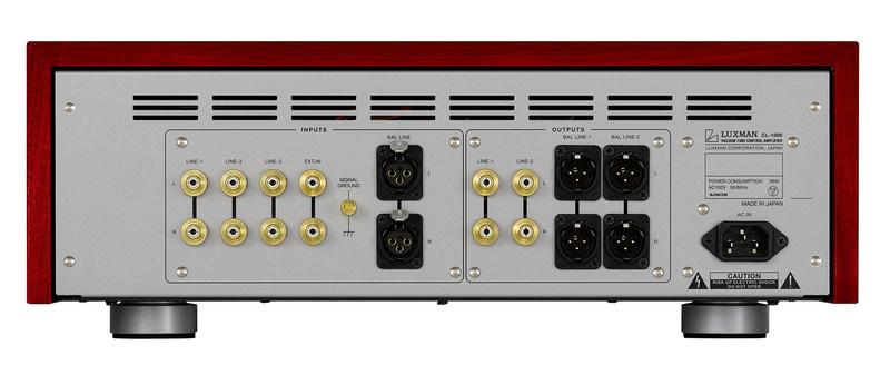 Luxman ra mắt preamp đèn hi-end CL-1000