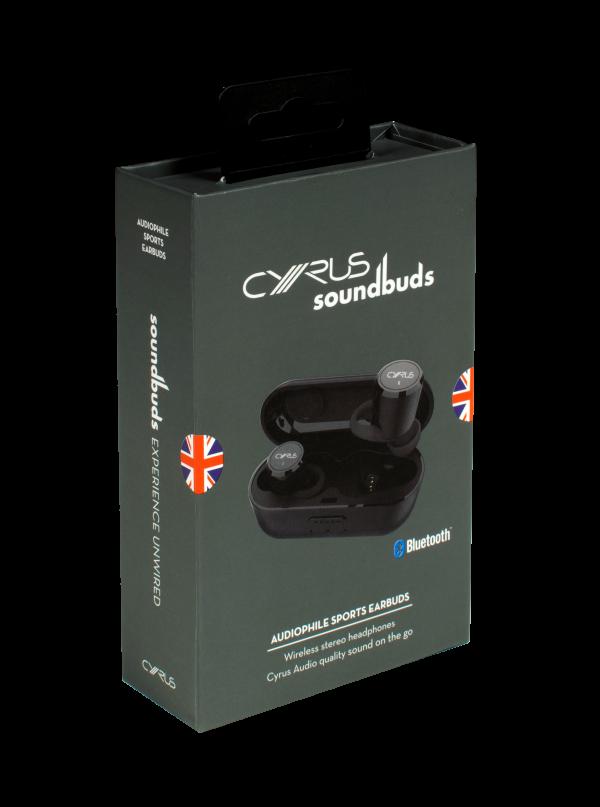 Cyrus giới thiệu tai nghe true wireless soundBuds