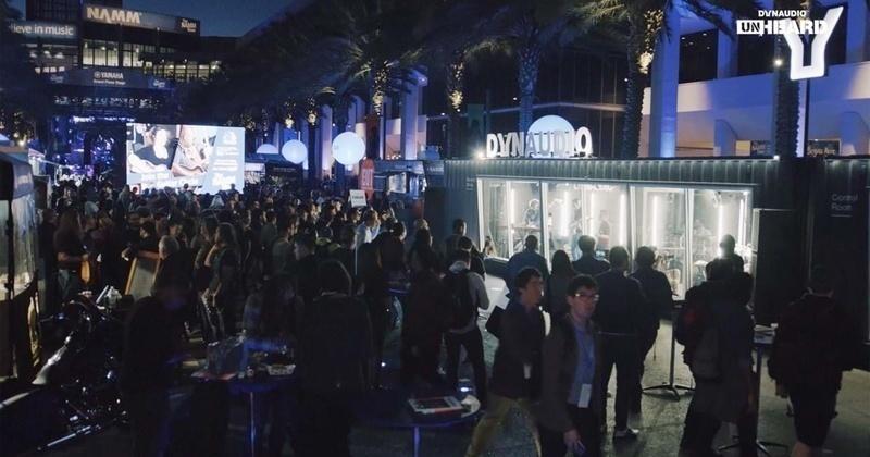 Phòng thu di động Unheard của Dynaudio chuẩn bị xuất hiện tại High End Munich 2019