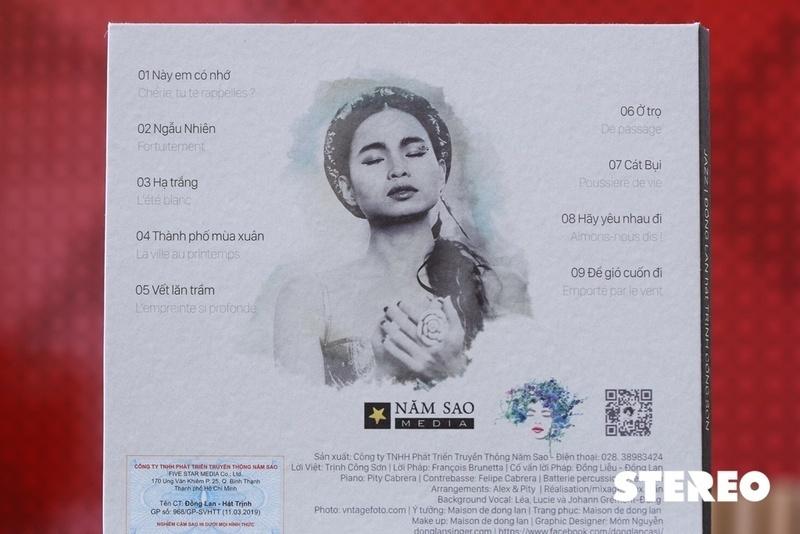 CD nhạc Đồng Lan hát Trịnh: Không thể thiếu trên kệ đĩa audiophile