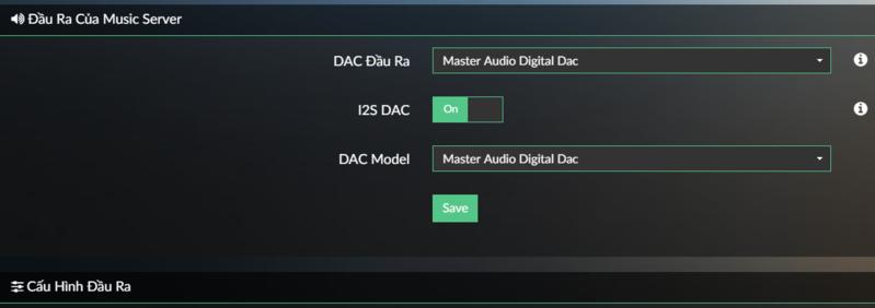 Trải nghiệm máy chủ nghe nhạc Master Audio M-Server