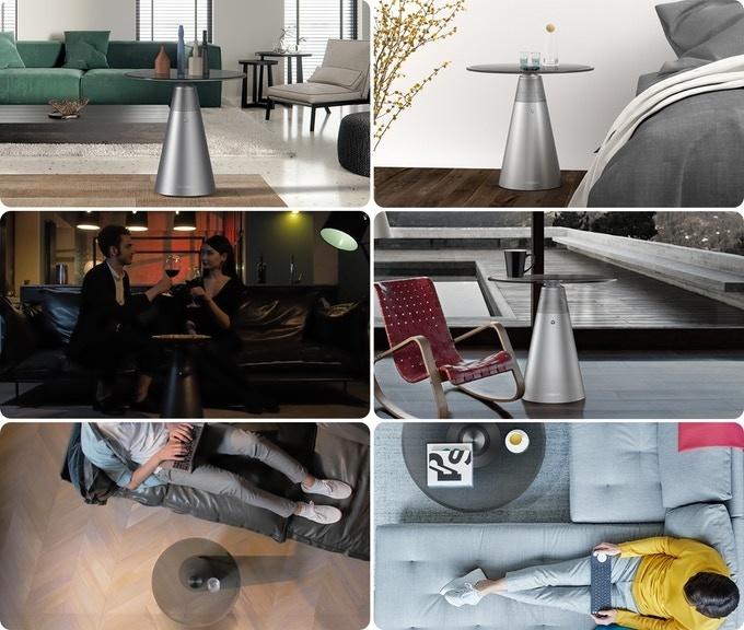 Soundesk: Chiếc bàn cà phê kiêm loa 360 độ độc đáo