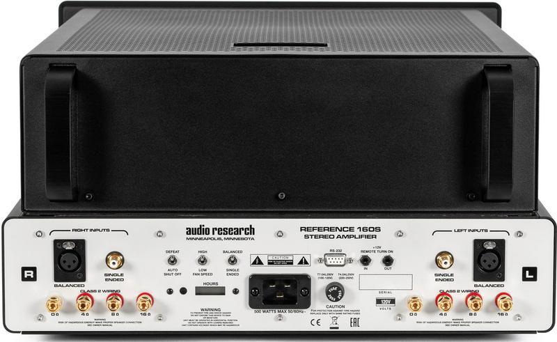 Audio Research công bố ampli công suất thế hệ mới Reference 160S