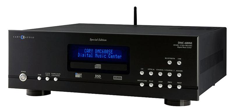 Cary Audio DMC-600SE: Bộ nguồn phát đẳng cấp dành cho cả CD và nhạc streaming