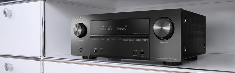 Denon giới thiệu 2 AV receiver phổ thông dòng X-Series, AVR-X2600H và AVR-X1600H