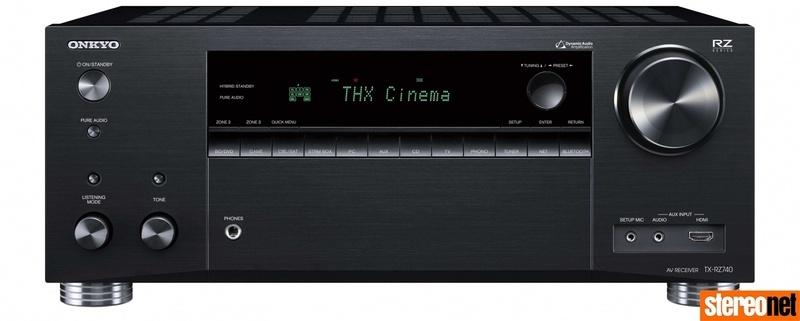 Onkyo tung ra bộ đôi AV Receiver TX-RZ840 và TX-RZ740, đạt chuẩn IMAX, THX