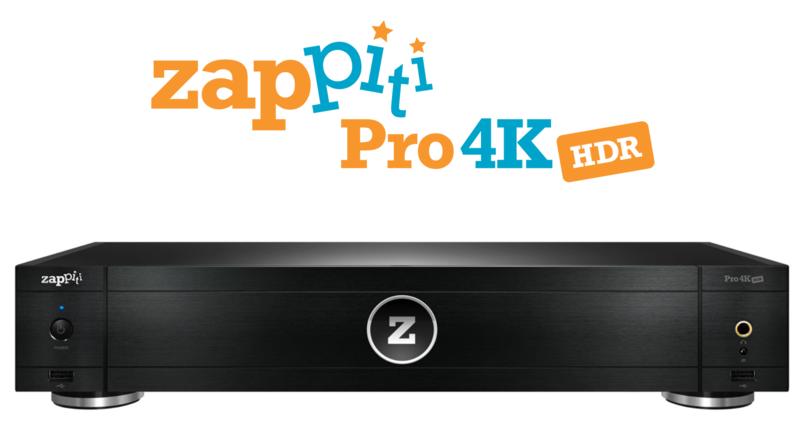 Zappiti trình làng đầu phát HD hi-end Pro 4K HDR