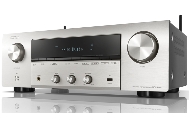 Denon giới thiệu network receiver 2 kênh DRA-800H dành cho nghe nhạc