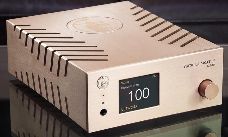 Gold Note trình làng bộ giải mã hi-end DS-10 DAC