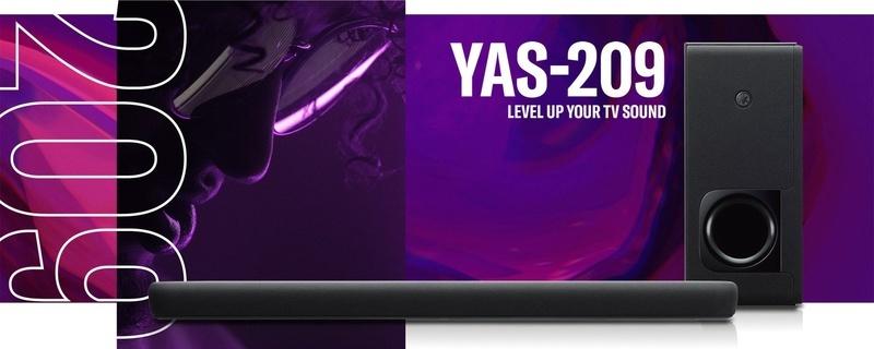 Yamaha ra mắt loa soundbar hỗ trợ streaming YAS-209