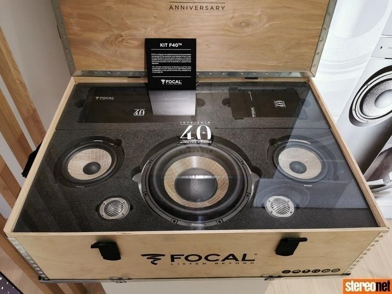 Loạt sản phẩm kỷ niệm 40 năm thành lập Focal chính thức lộ diện